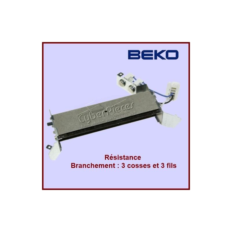 Résistance Beko 2969800200 remplacé par 2969800300