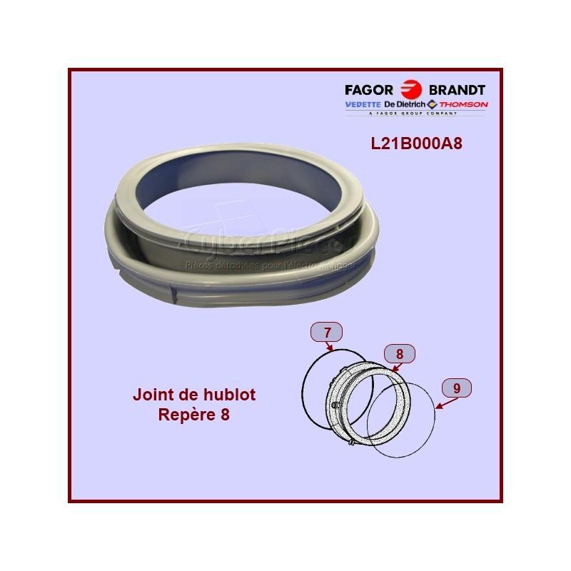 Manchette de hublot Brandt L21B000A8
