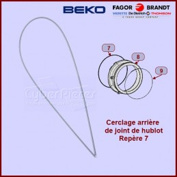 Cerclage arrière de manchette Beko 2802580300 CYB-067102