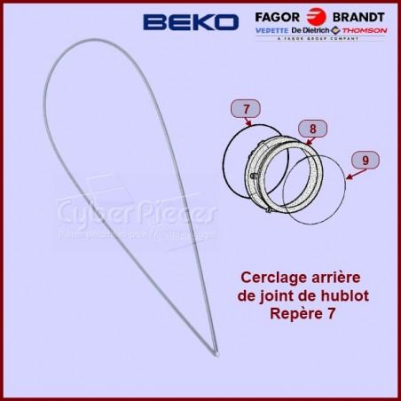 Cerclage arrière de manchette Beko 2802580300