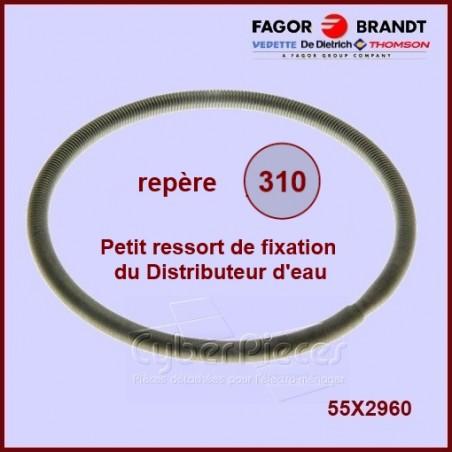 Petit ressort distributeur manchette Brandt 55X2960