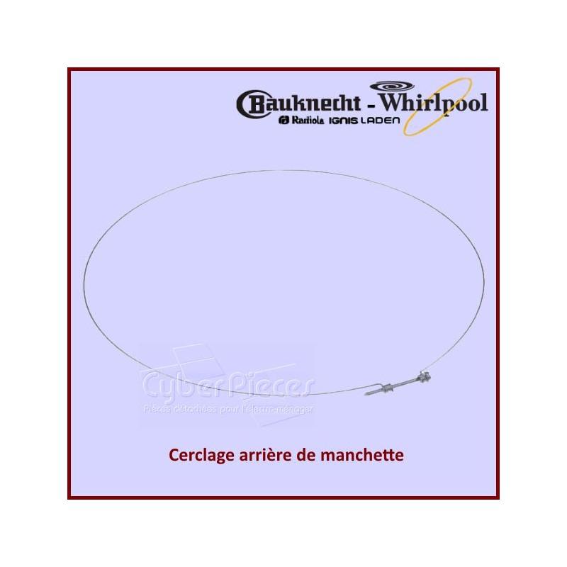 Cerclage Arrière de Manchette Whirlpool 481949238119