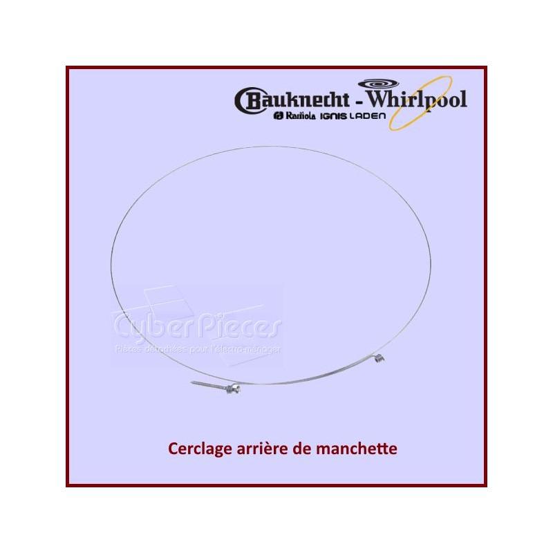 Cerclage Arrière de manchette Whirlpool 481953288054