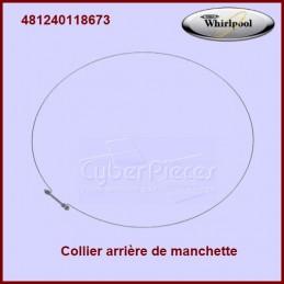 Cerclage arrière de manchette Whirlpool 481240118673 CYB-207522