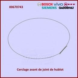Cerclage avant de manchette Bosch 00670743 CYB-020527