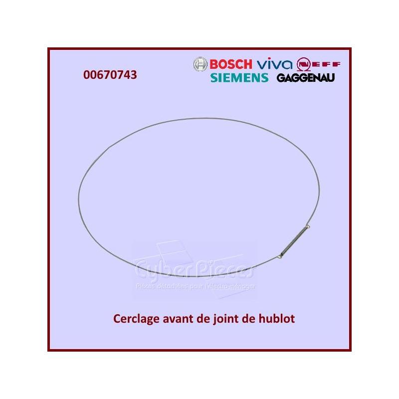Cerclage avant de manchette Bosch 00670743