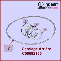 Cerclage ARRIÈRE de manchette Indesit C00092155 CYB-052122