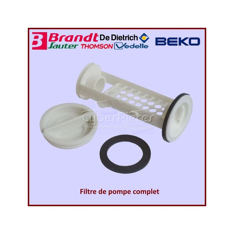 Bouchon filtre de pompe Brandt 52X2475