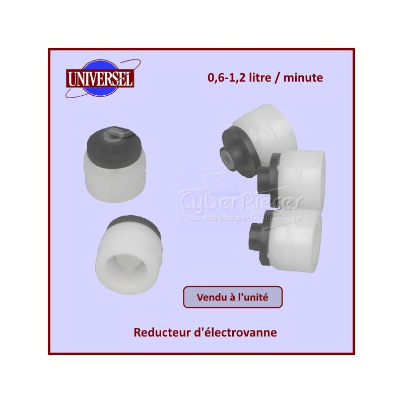 Réducteur pour électrovanne 0,6-1,2l/mn