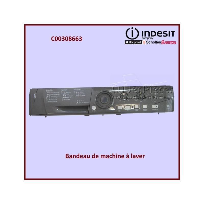 Tableau de bord HE8L493GUK Indesit C00308663