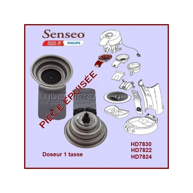 Support de filtre 1 tasse gris Senseo - 422225939230***Pièce épuisée***