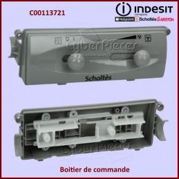 Boitier de commande Gris Indesit C00113721 CYB-058131