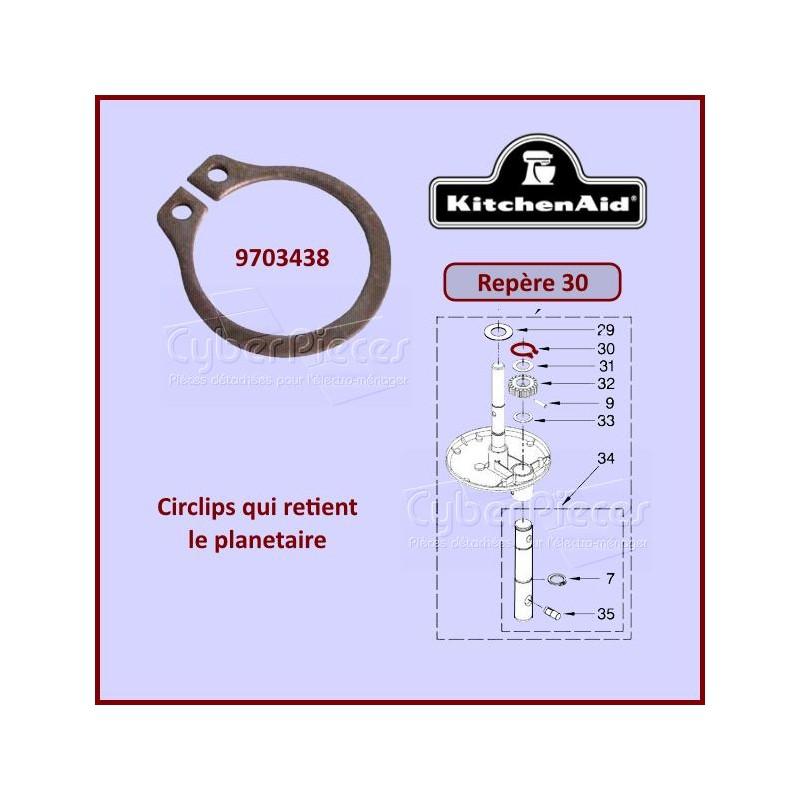 Circlips Kitchenaid 9703438