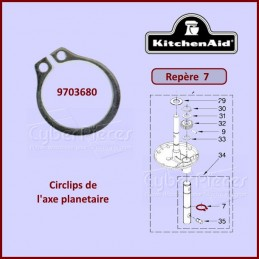 Circlips Kitchenaid 9703680