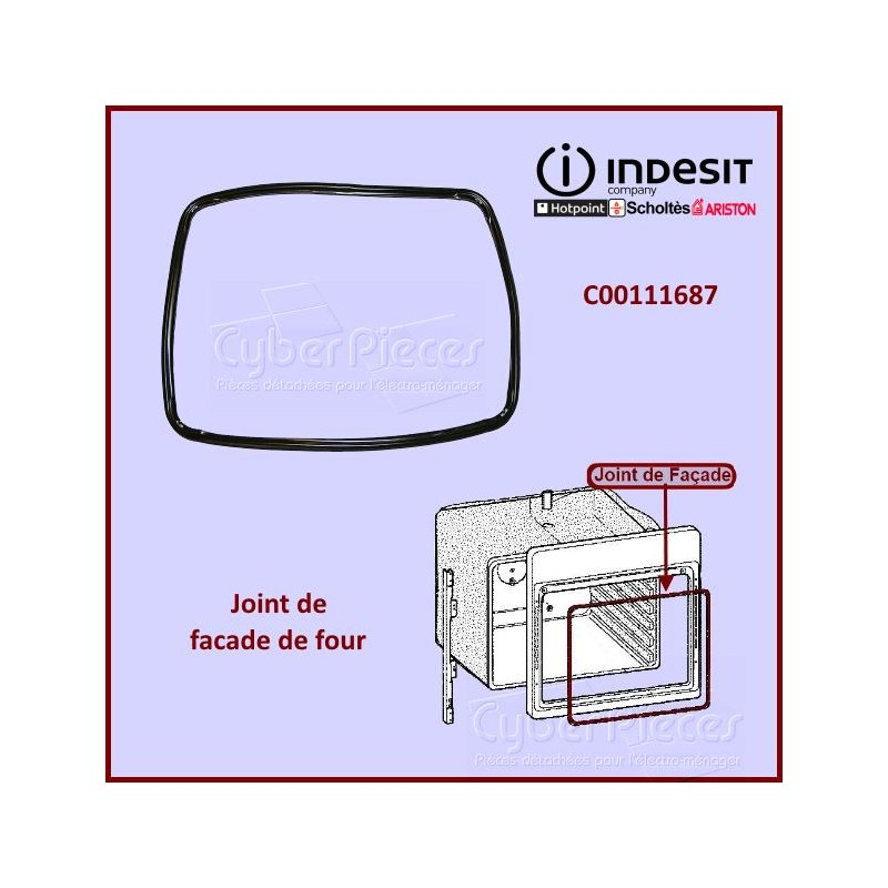 Joint de Porte Full Glass Indesit C00111687