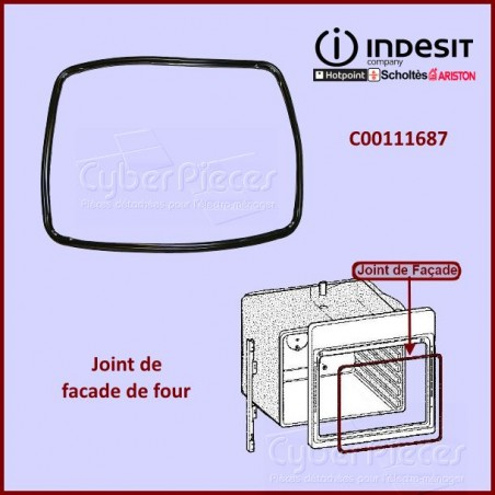 Joint de Porte Full Glass Indesit C00111687