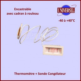 Thermomètre + Sonde Congélateur -40+40° C CYB-144704
