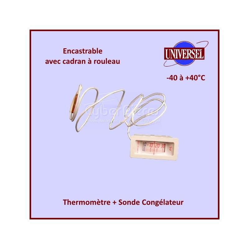 Thermomètre + Sonde Congélateur  -40+40° C