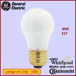Ampoule E27 Standard 125v-130v 40w 481913488143 CYB-084864