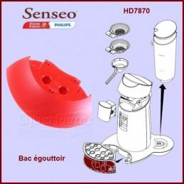 Bac égouttoir rouge Senseo 422224768611 CYB-002929