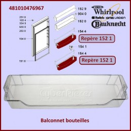 Balconnet Bouteilles Whirlpool 481010476967 CYB-082105