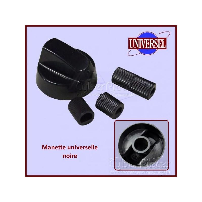Manette Noire + Embouts Universel