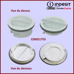 Lot de 2 bouchons de boite à produit Indesit C00051755 CYB-048248