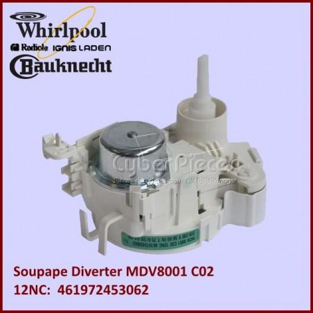 Soupape Diverter Whirlpool 481228128461 (MDV8001-C02)