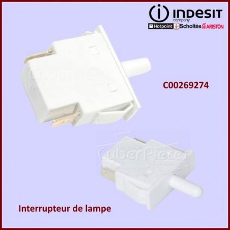 Interrupteur d'eclairage Eltek Indesit C00269274