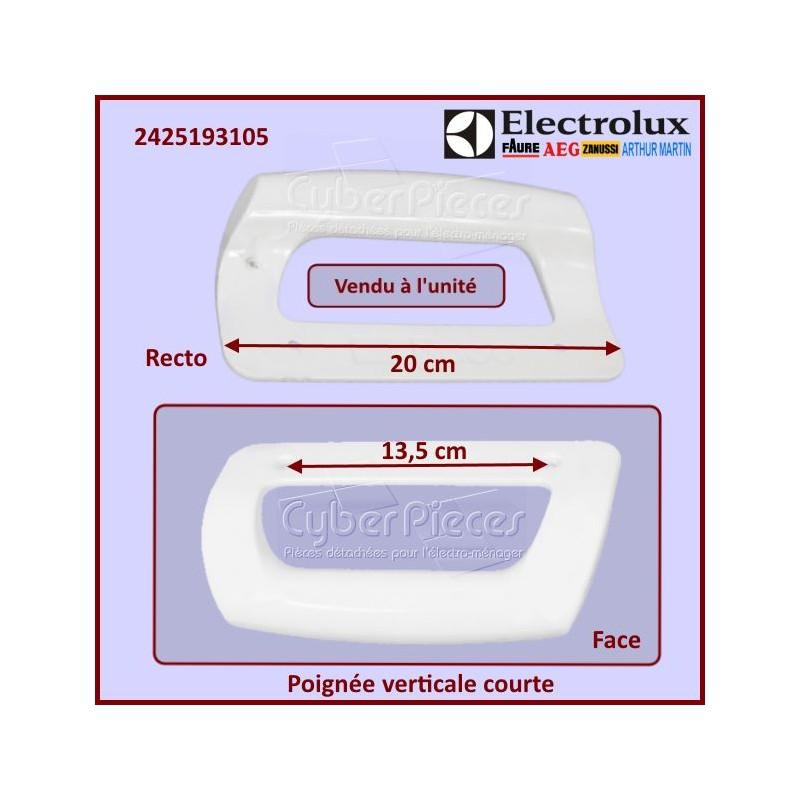 Poignée verticale courte Electrolux 2425193105