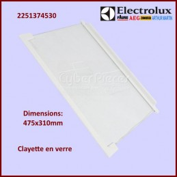 Clayette en verre Electrolux 2251374530 CYB-138093