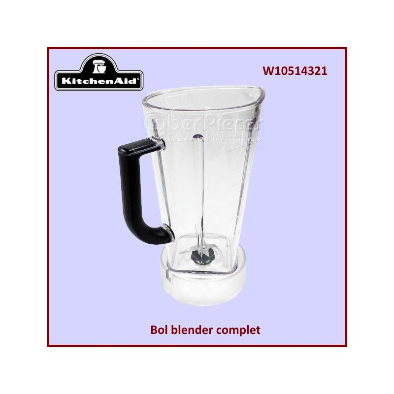 Bol complet pour blender Kitchenaid W10514321 E6-5