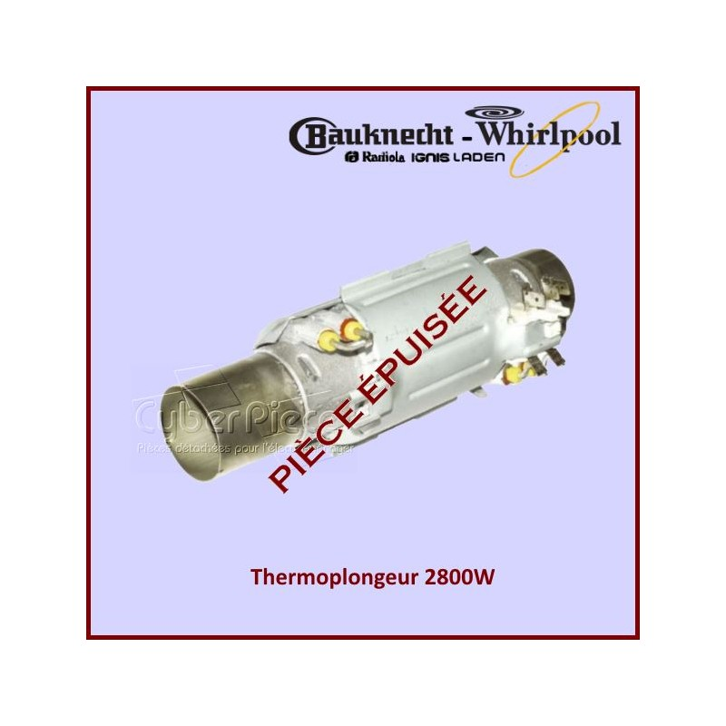Thermoplongeur ***article épuisé***481225928067 - 481225928071 - 481925928522