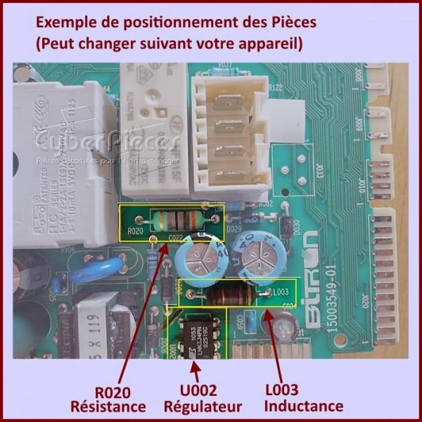 kit lnk305gn pour carte electronique whirlpool