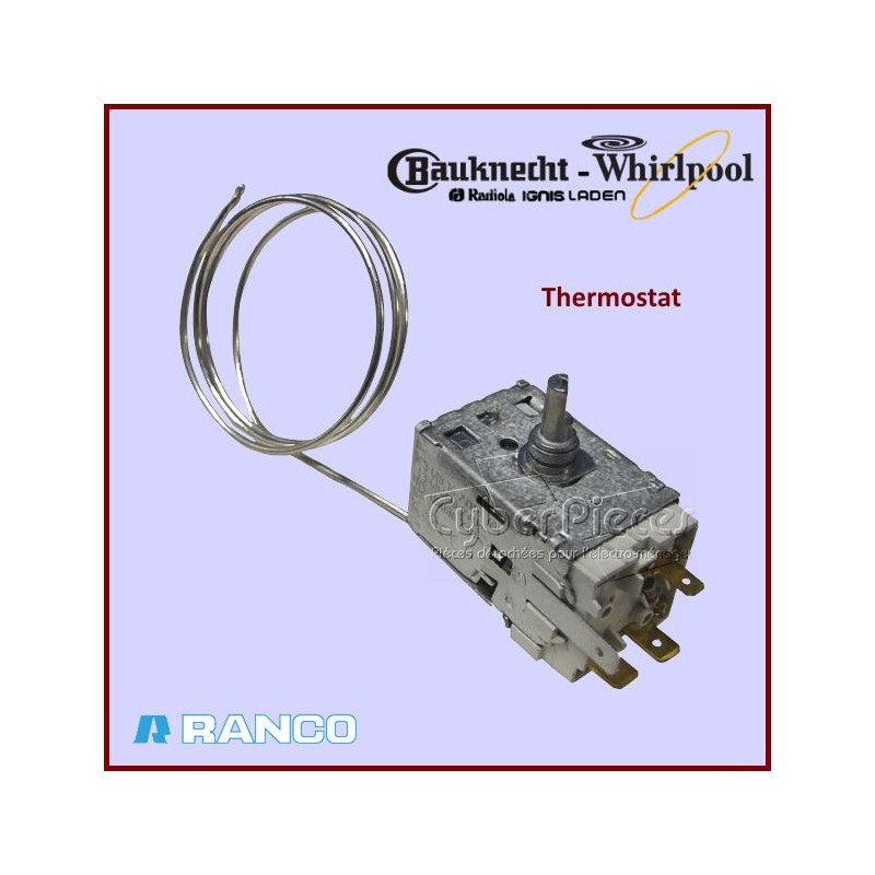Thermostat K59S2791500 Whirlpool 481228238188