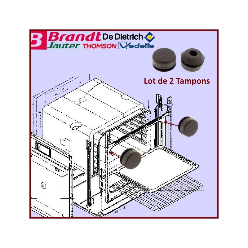 Tampons de porte en Caoutchouc ( Lot de 2) 74X3852