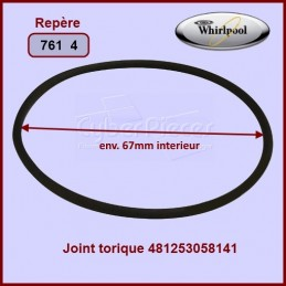 Joint torique Whirlpool 481253058141 CYB-084567
