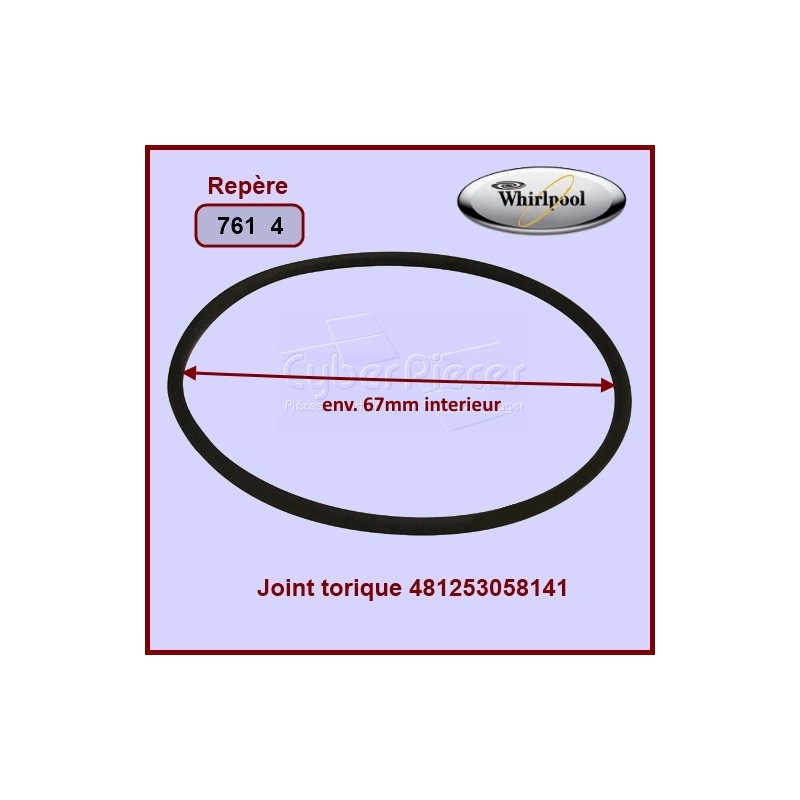 Joint torique Whirlpool 481253058141