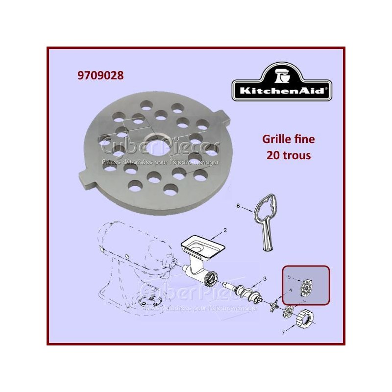 Grille fine Kitchenaid FGA 9709028