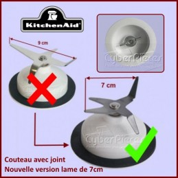 Couteau Blender Kitchenaid 9707580 ***Lame de 9cm remplacée par la version 7cm*** GA-353137