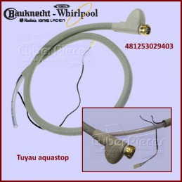 Tuyau d'arrivée d'eau AQUASTOP WHIRLPOOL 481253029403 CYB-198943