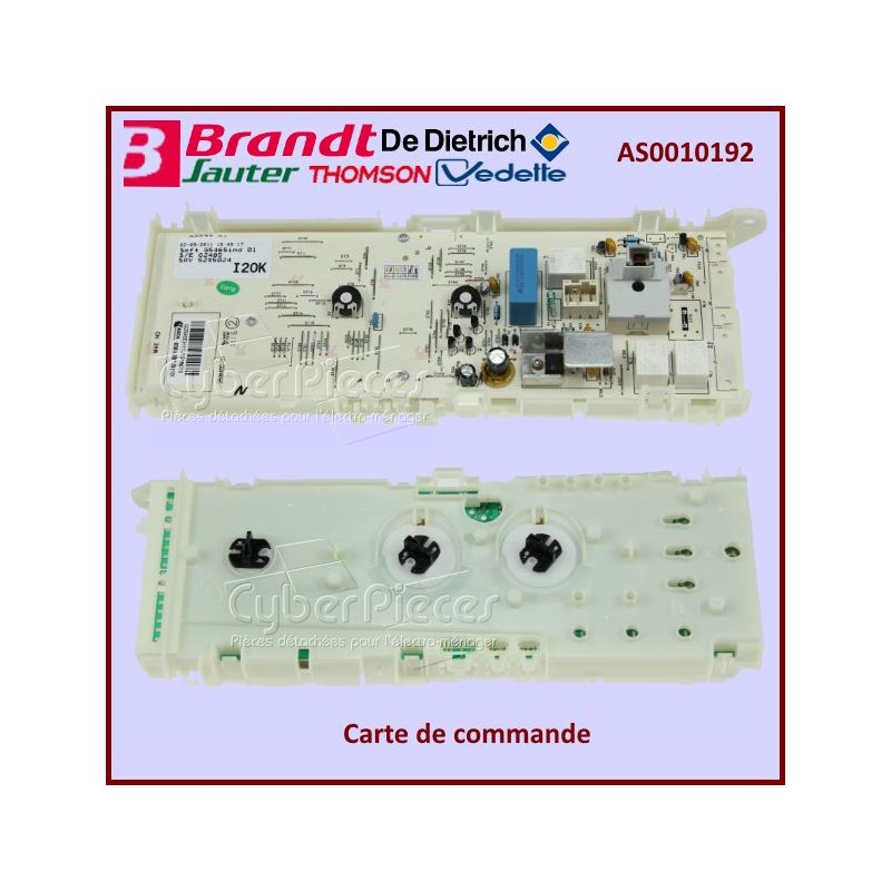 Carte de commande Brandt AS0010192