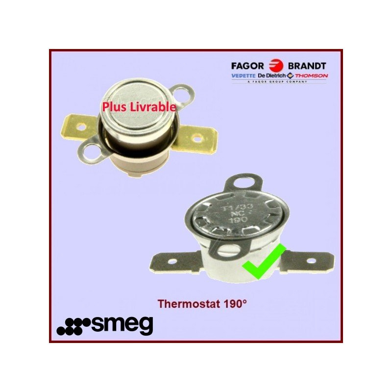 Thermostat 190° Smeg 818731475