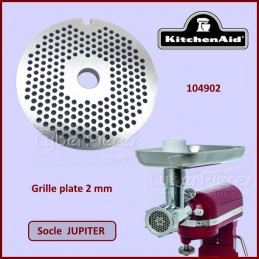 Grille plate 2mm Jupiter kitchenaid 104902 CYB-107945