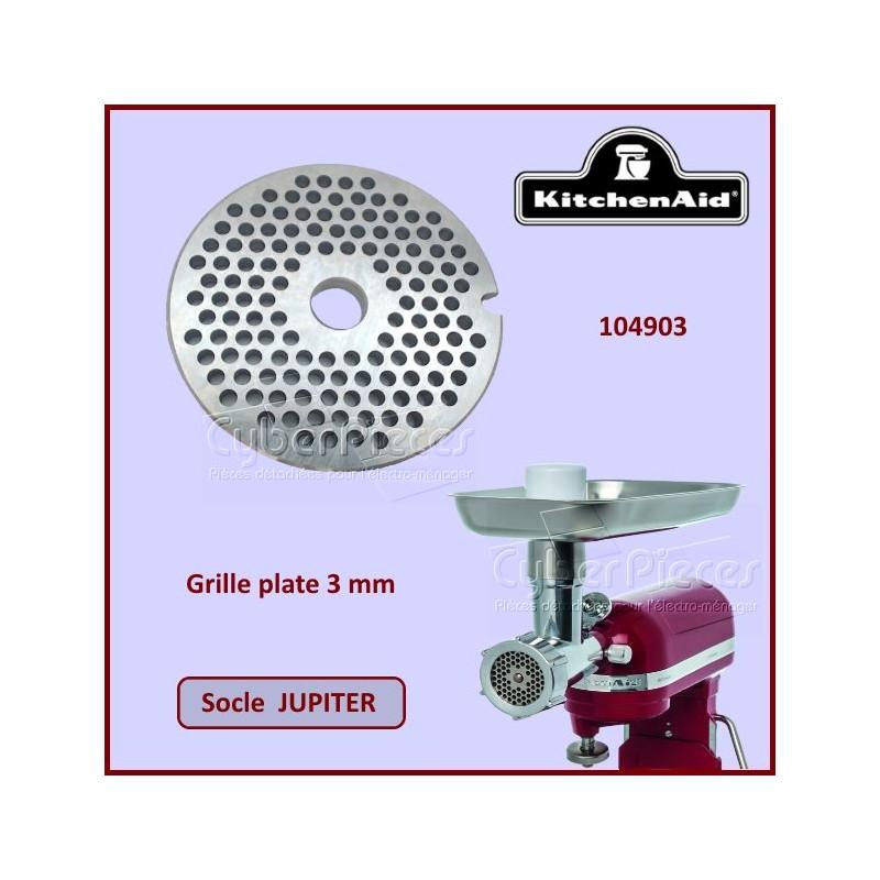 Grille plate 3mm Jupiter Kitchenaid 104903