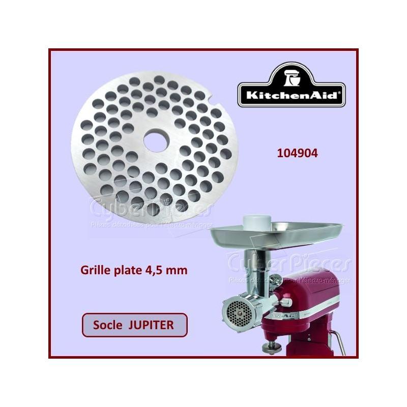 Grille plate 4,5mm Jupiter Kitchenaid 104904