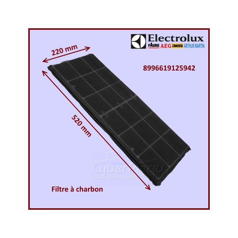 Filtre à charbon 220x520mm Electrolux 8996619125942