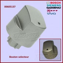 Bouton selecteur plaque de cuisson Bosch 00605137 CYB-296397