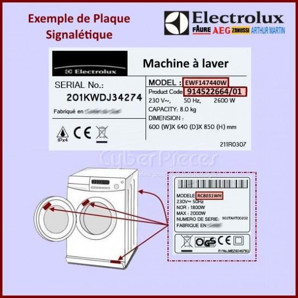 module configur electrolux 973916096672043 pour seche. Black Bedroom Furniture Sets. Home Design Ideas