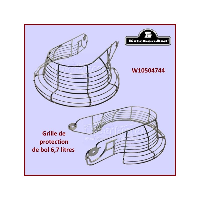Grille de protection de bol Kitchenaid W10504744